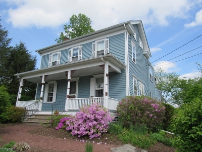 Frenchtown Boro Single Family Home For Sale: 18 Everittstown