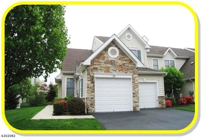 Bernards Twp. Condo/Townhouse For Sale: 35 Patriot Hill Dr