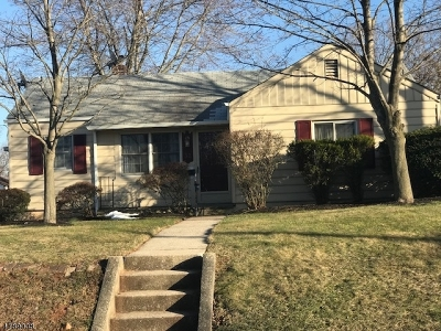 Edison Twp. Single Family Home For Sale: 32 Walnut St