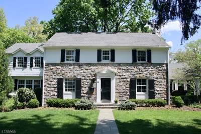 Madison Boro Single Family Home For Sale: 58 Pomeroy Rd