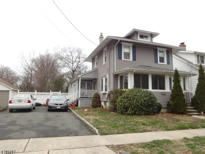 Roselle Park Boro Single Family Home For Sale: 516 Spruce St
