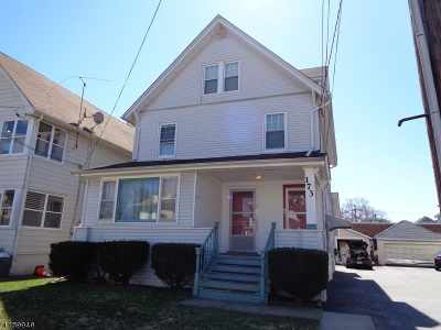 Clifton City Multi Family Home For Sale: 173 Harding Ave