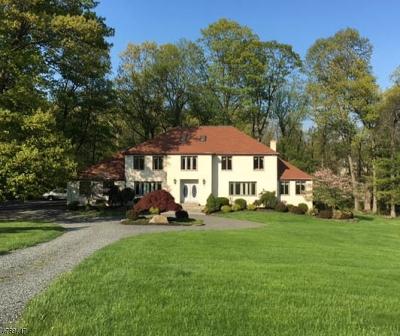 Bernardsville Boro Single Family Home For Sale: 67-2 Ballantine Road