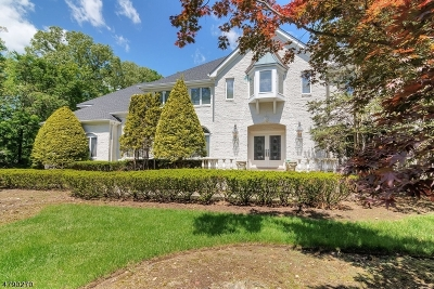 Franklin Lakes Boro Single Family Home For Sale: 220 Hidden Pond Path
