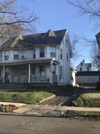 Bound Brook Boro Multi Family Home For Sale: 28-30 W 2nd St