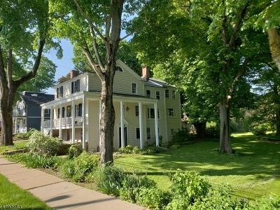 Mendham Boro Single Family Home For Sale: 9 Mountain Ave