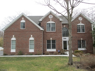 Mount Olive Twp. Single Family Home For Sale: 2 Vista Dr