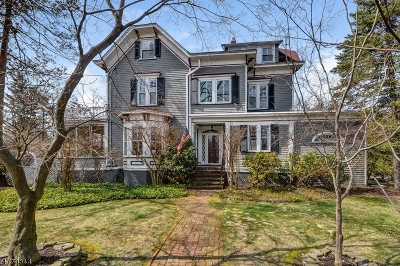Cranford Twp. Single Family Home For Sale: 35 Central Ave