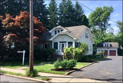 Glen Rock Boro Single Family Home For Sale: 518 Ackerman Ave