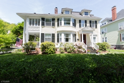 Morristown Single Family Home For Sale: 19 Wetmore Ave