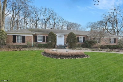 Franklin Lakes Boro Single Family Home For Sale: 894 Huron Rd