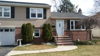 Scotch Plains Twp. Single Family Home For Sale: 2268 Jersey Ave