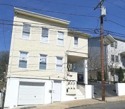 Paterson City Multi Family Home For Sale: 116-118 Cliff St