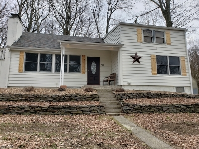 Sparta Twp. Single Family Home For Sale: 52 Hilltop Trl