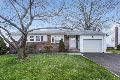 Roselle Park Boro Single Family Home For Sale: 714 Hazel St