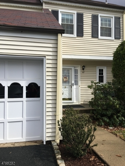 Morris County Single Family Home Sold: 67 Galway Dr