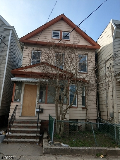 Newark City Single Family Home For Sale: 393 Lincoln Ave #2