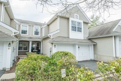Randolph Twp. Condo/Townhouse For Sale: 53 Ridgewood Dr