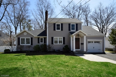 Fanwood Boro Single Family Home For Sale: 48 Laurel Pl