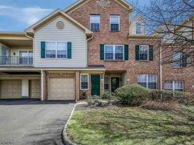 Morris Twp. Condo/Townhouse For Sale: 27 Gate House Ct