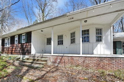 Wayne Twp. Single Family Home For Sale: 100 Indian Rd