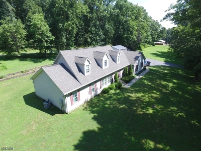 Delaware Twp. Single Family Home For Sale: 26 Lower Ferry Rd