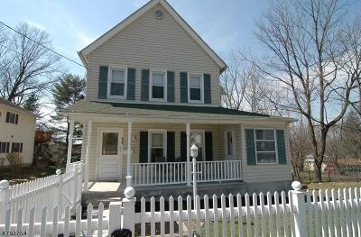 Roxbury Twp. Single Family Home For Sale: 322 Center St