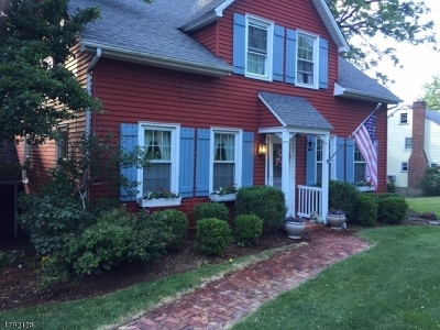 Chatham Twp Single Family Home For Sale: 686 Fairmount Ave
