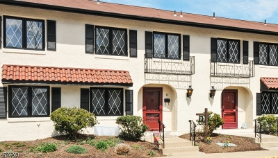 Morristown Town, Morris Twp. Condo/Townhouse For Sale: 7 Dorado Dr Unit C #C