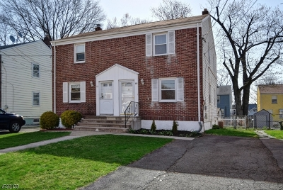 Cranford Twp. Single Family Home For Sale: 15 Park Ter