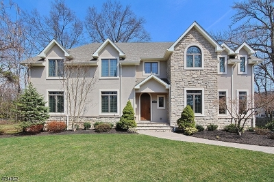 Westfield Town NJ Single Family Home For Sale: $1,399,000