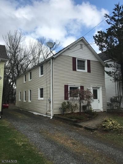 Roxbury Twp. Single Family Home For Sale: 69 Main St, Succ