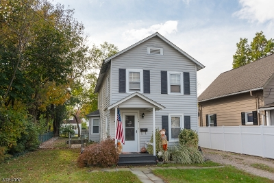 Morristown Town, Morris Twp. Single Family Home For Sale: 114 Fairchild Ave
