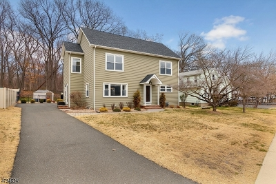 North Haledon Boro Single Family Home For Sale: 81 Overlook Ave