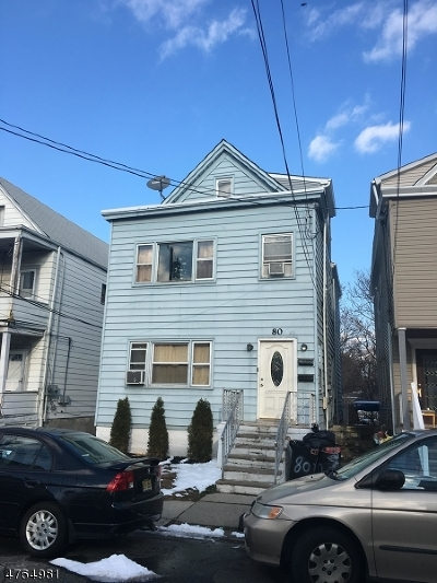 Passaic City Multi Family Home For Sale: 80-82 Richard St
