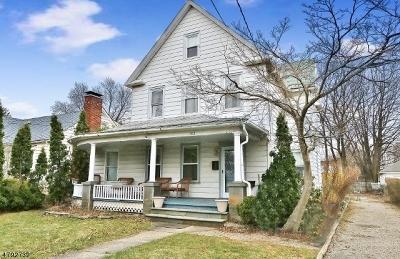 Roxbury Twp. Single Family Home For Sale: 102 Main St, Succ