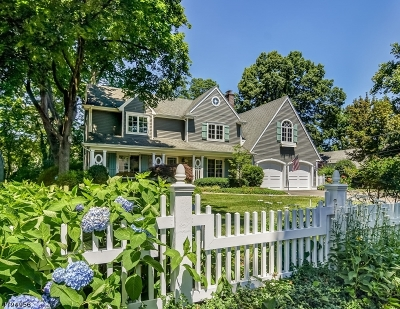 Westfield Town NJ Single Family Home For Sale: $1,399,999