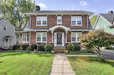 Morristown Single Family Home For Sale: 18 Walker Ave