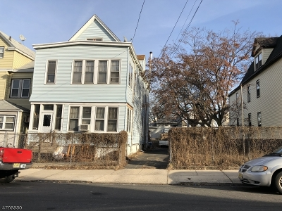 Newark City Multi Family Home For Sale: 811-815 Parker St