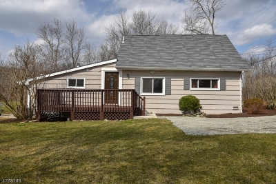 Long Valley Single Family Home For Sale: 196 Bartley Rd