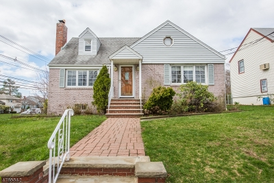 Clifton City Single Family Home For Sale: 7 Cresthill Ave