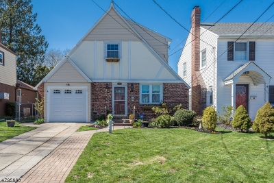 Clifton City Single Family Home For Sale: 16 Sussex Rd