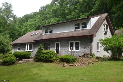 Alexandria Twp. Single Family Home For Sale: 633 Sweet Hollow Road