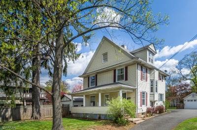 Bernardsville Boro Single Family Home For Sale: 50 Mount Airy Rd