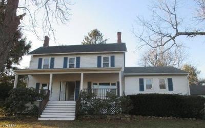Califon Boro, Tewksbury Twp. Single Family Home For Sale: 12 Black River Rd