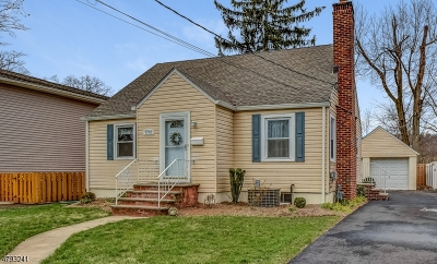 Scotch Plains Twp. Single Family Home For Sale: 1705 Front St