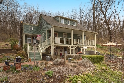 Lebanon Twp. Single Family Home For Sale: 18 Musconetcong River Rd