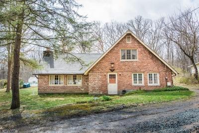 Mendham Boro, Mendham Twp. Single Family Home For Sale: 46 Washington Valley Rd