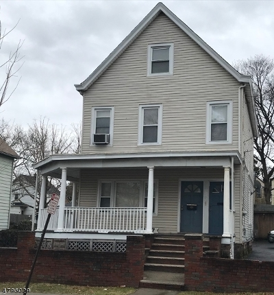 Passaic City Multi Family Home For Sale: 435-439 Highland Ave