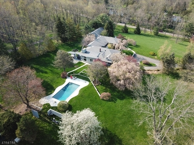 Mendham Boro, Mendham Twp. Single Family Home For Sale: 27 Washington Valley Rd